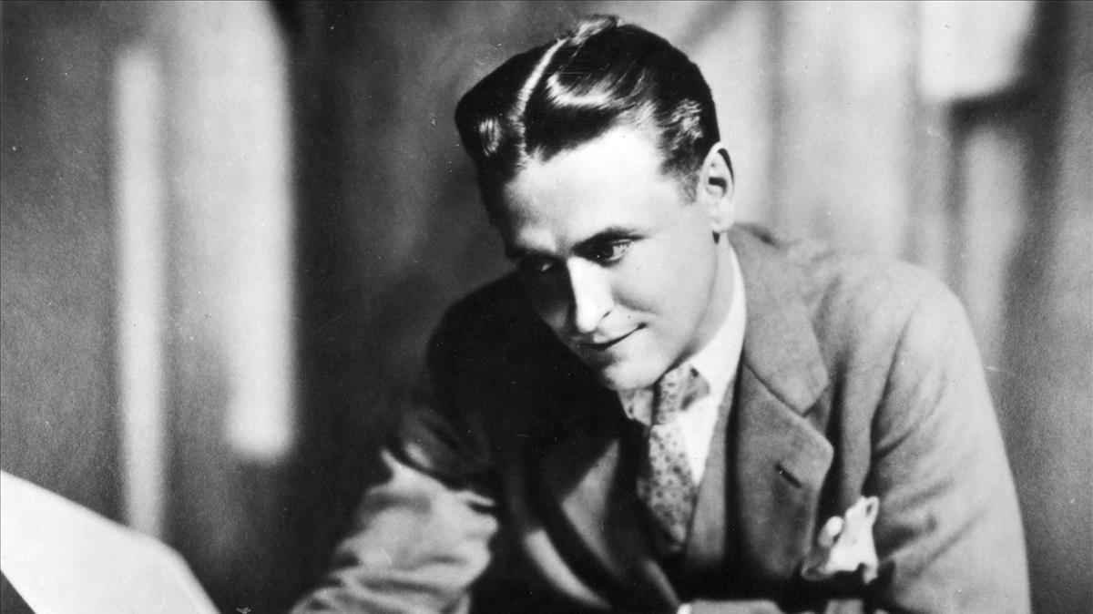 Francis Scott Fitgerald, a finales de la década de 1920.