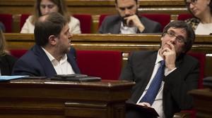 Puigdemont es queda sol amb el seu pla de llista unitària per a les europees