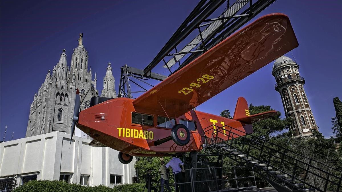 El avión del Tibidabo.