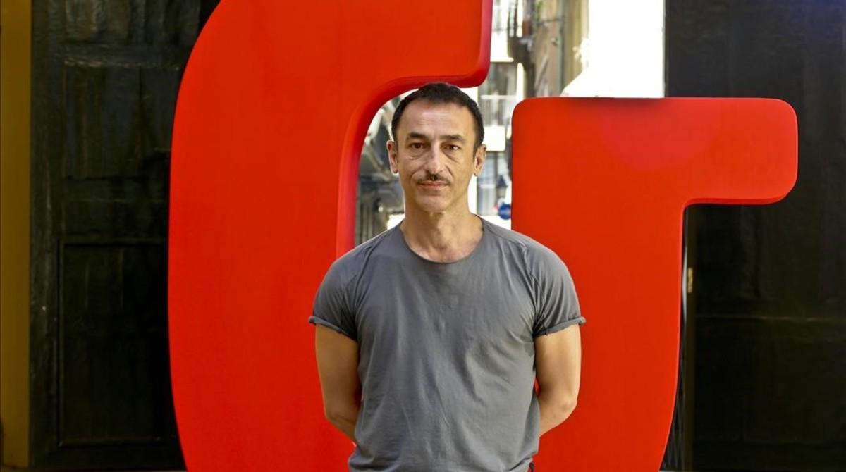 Dimitris Pappaioannou, este viernes, enBarcelona.