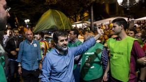 Jordi Sànchez assegura que tornaria a fer el tuit per convocar la concentració del 20-S