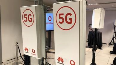 Vodafone y Huawei realizan la primera llamada del mundo de 5G entre Castelldefels y Madrid