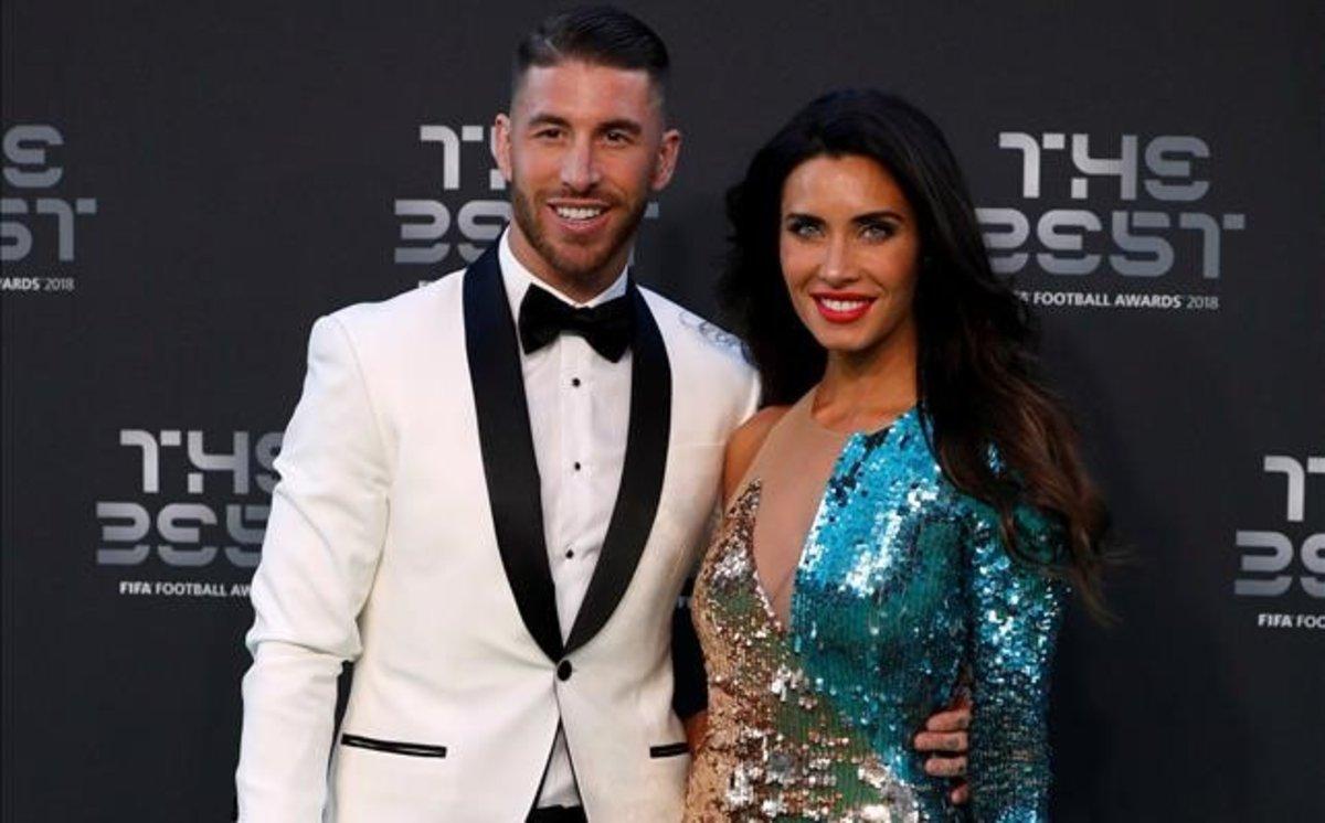Pilar Rubio y Sergio Ramos, en la gala de la Fifa del pasado 24 de septiembre.