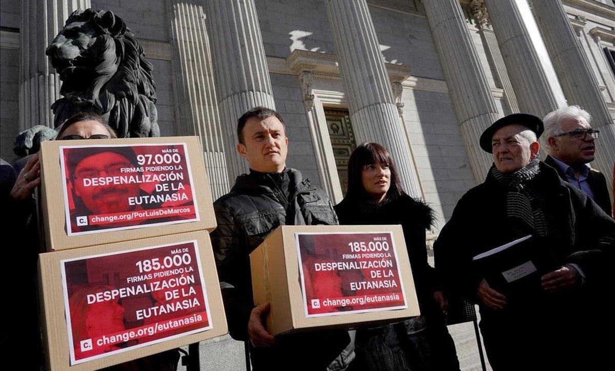Cs pressiona el PSOE amb les sancions en la llei de mort digna per desbloquejar l'eutanàsia