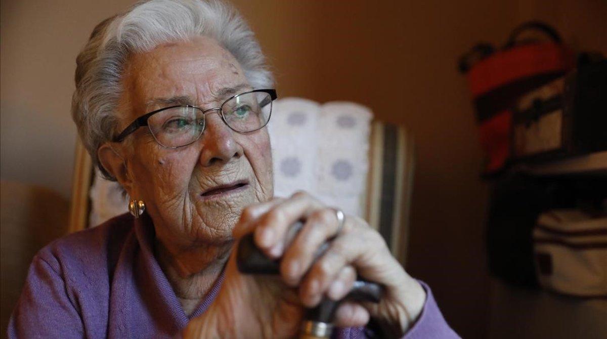 Manolita Nevado: «El patiment se m'amuntega en la memòria»