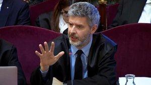 El abogado de Oriol Junqueras.