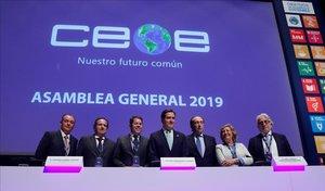 El president de CEOE considera una bona opció anar a noves eleccions