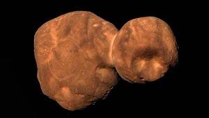 Primeras imágenes deArrakoth, antes conocido como Ultima Thule, enviadas por la nave New Horizons de la NASA