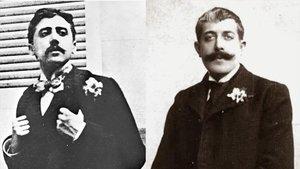Marcel Proust y Jean Lorrain.