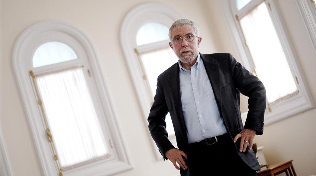 Paul Krugman: «Avui estem pitjor per afrontar una crisi que el 2017»