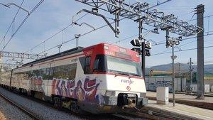 La línia R3 de Renfe, un dia més!