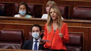 La portavoz del PP en el Congreso, Cayetana Álvarez de Toledo