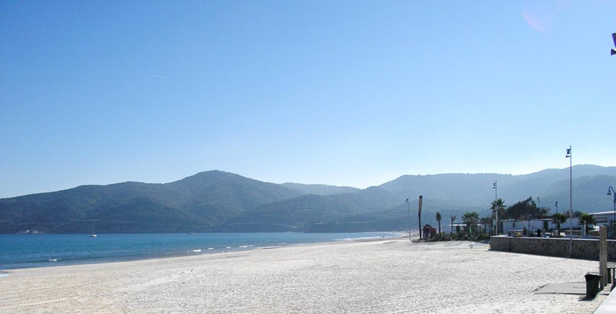 Playa de Getares, en Algeciras.