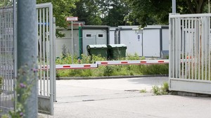 zentauroepp39079714 the entrance of a former barracks ground in bad segeberg ne170629102128