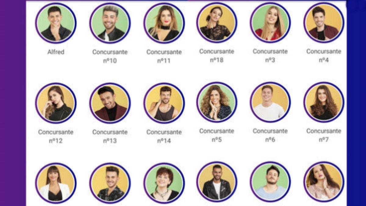 OT 2017: Desvelados los 18 concursantes por un fallo en la 'app'