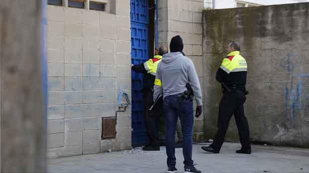 Operació dels Mossos contra una banda de narcos a làrea de Barcelona