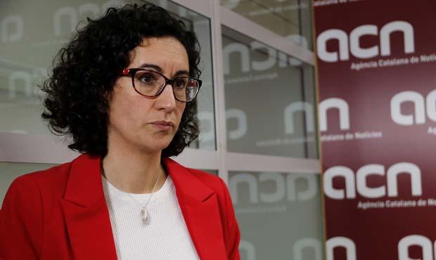 Declaraciones a ACN de Marta Rovira, secretaria general dERC