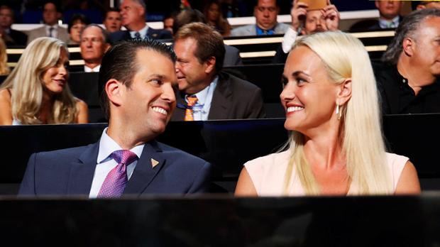 El hijo del presidente Trump se divorcia