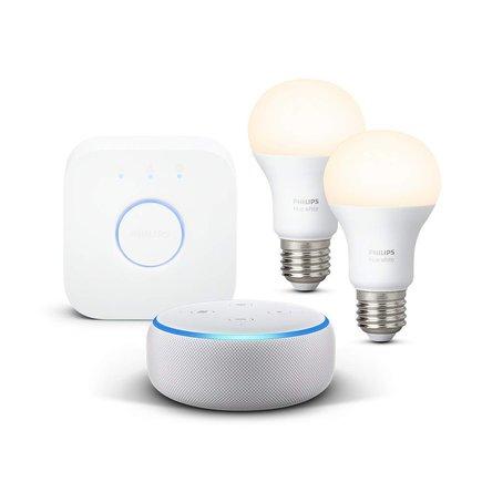 Amazon Echo y Phlips Hue