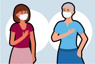 Maneras de saludar sin perder la salud
