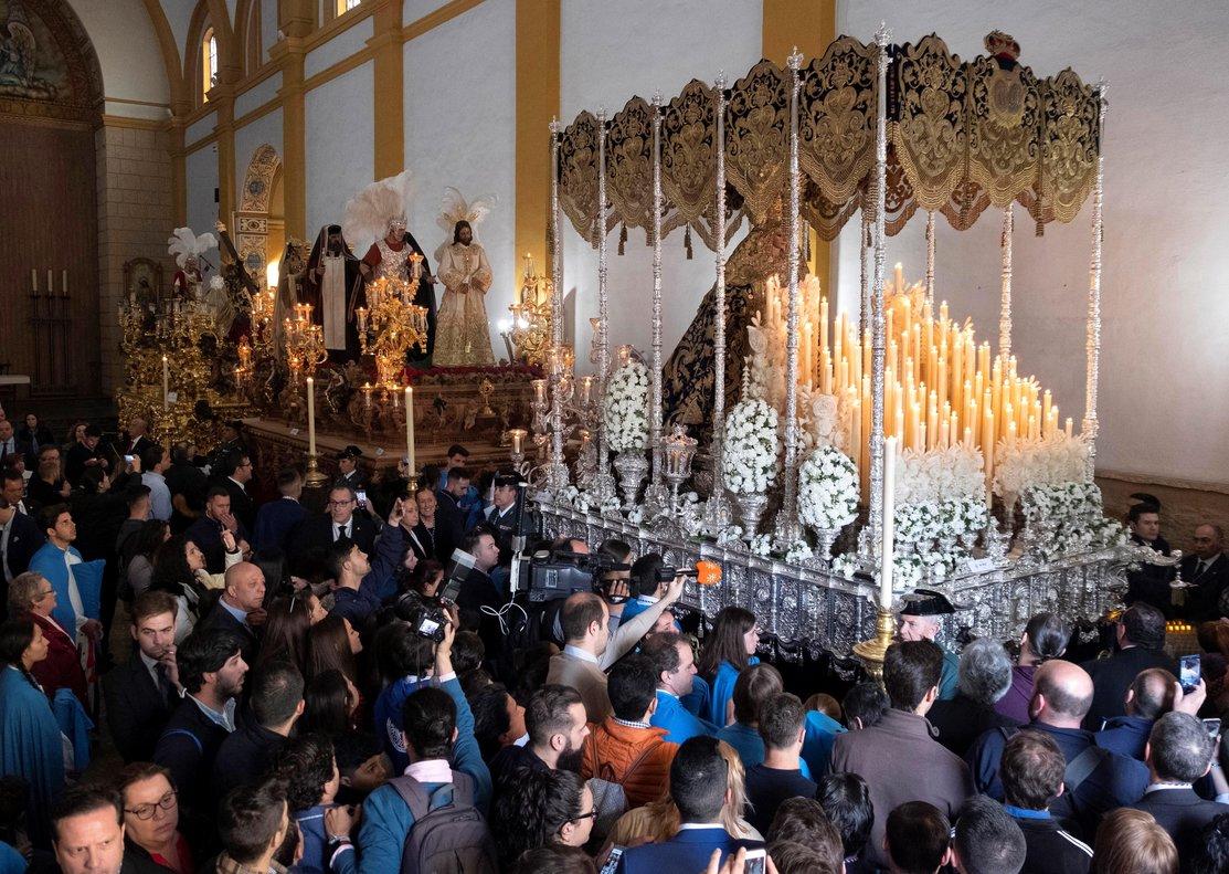La hermandad fue fundada en 1937, aunque sus orígenes son muy antiguos en la devoción en Lepe, ya que se tienen datos del siglo XVII.