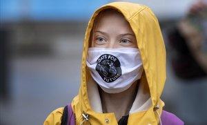 La activista medioambiental Greta Thunberg.