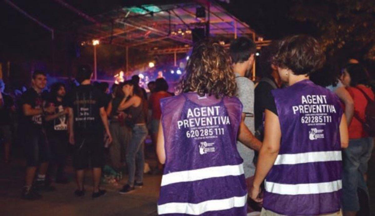Agentes preventivas de agresiones machistas de Esplugues.