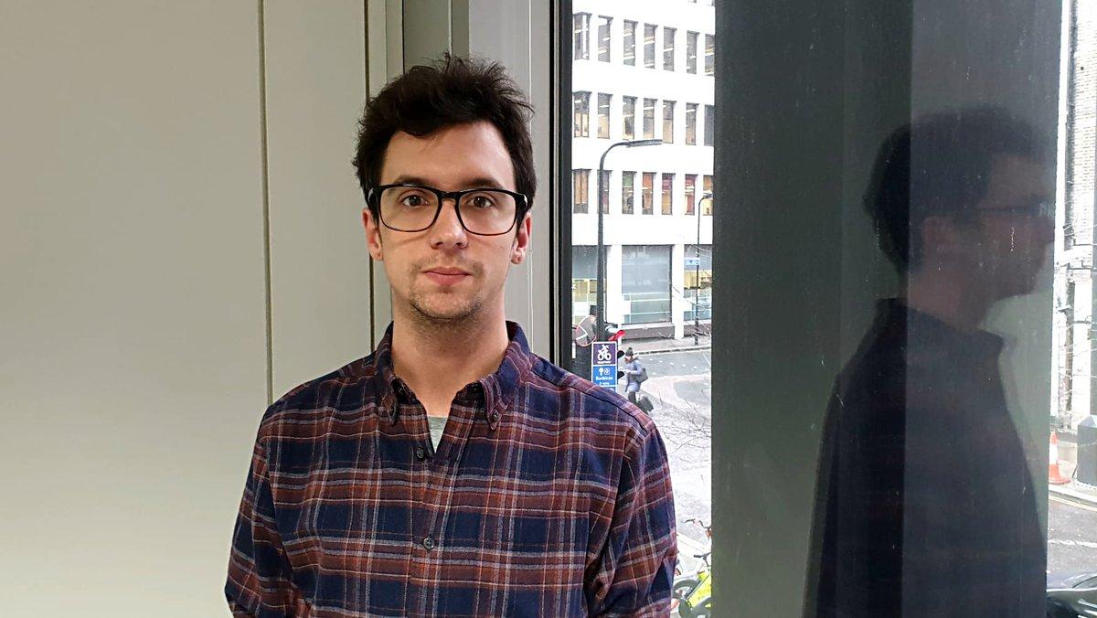 El ingeniero informático Agustí Bau, en la incubadora de 'start-ups' de Londres, ZincVC.
