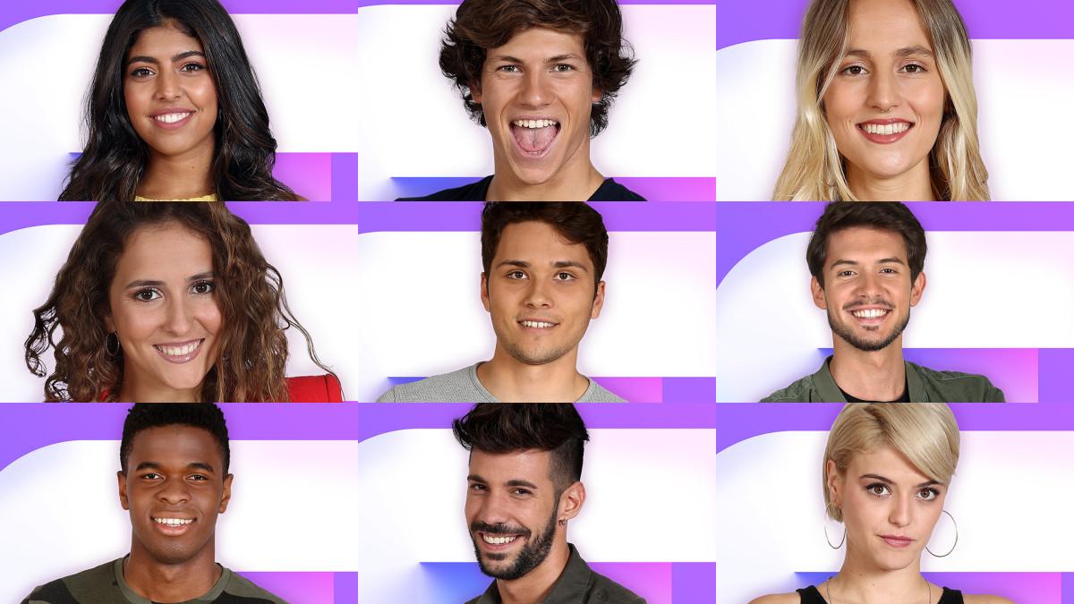 Algunos de los 18 aspirantes que participarán en la gala 0 de OT 2018.