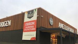El nuevo supermercado de Ametller Origen en la zona próxima al centro comercial Ànec Blau.