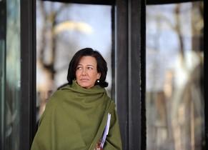 Ana Patricia Botín, en Londres.