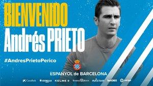 Andrés Prieto, nuevo portero del Espanyol.