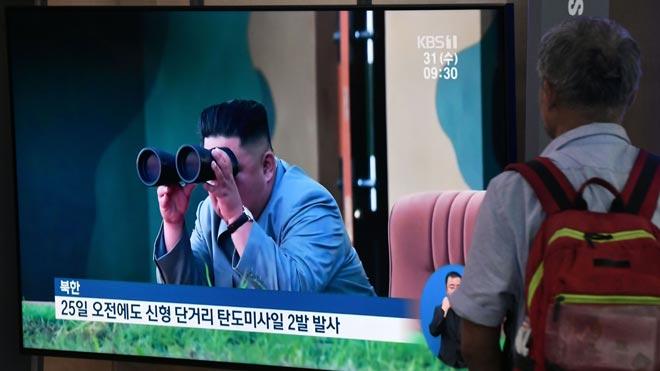 Corea del Nord realitza el seu segon test de míssils de curt abast en una setmana