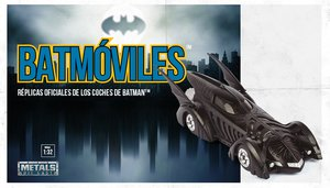 Batmóviles. Réplicas oficiales de los coches de Batman