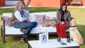 Bertín Osborne con Tamara Falcó en la nueva entrega de 'Mi casa es la tuya'.