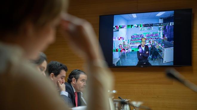 El Bigotes comparece por videoconferencia en comisión que investiga el caso Imelsa.