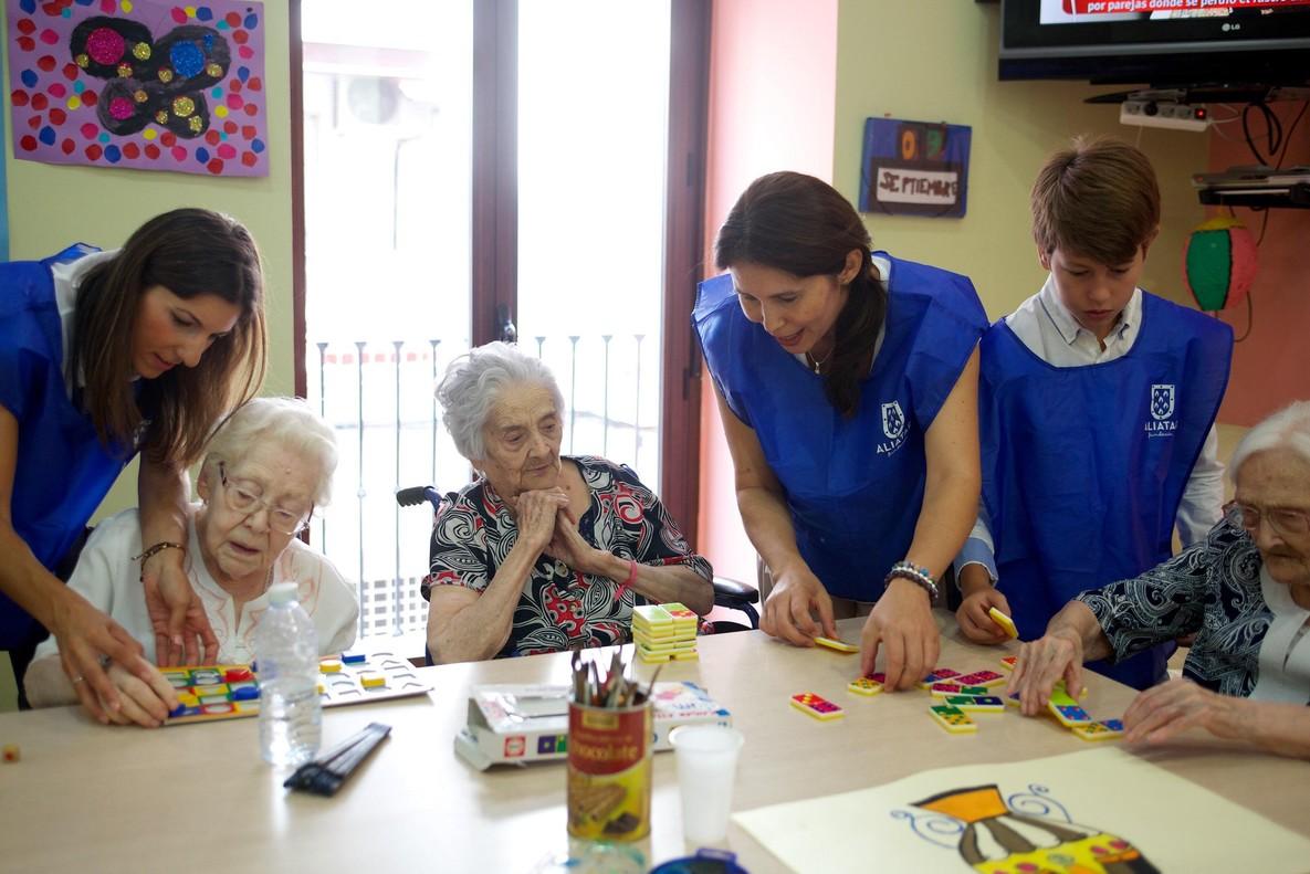 Un proyecto social beneficiado por La Caixa.