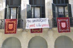 CDR ocupen l'ajuntament de Girona.