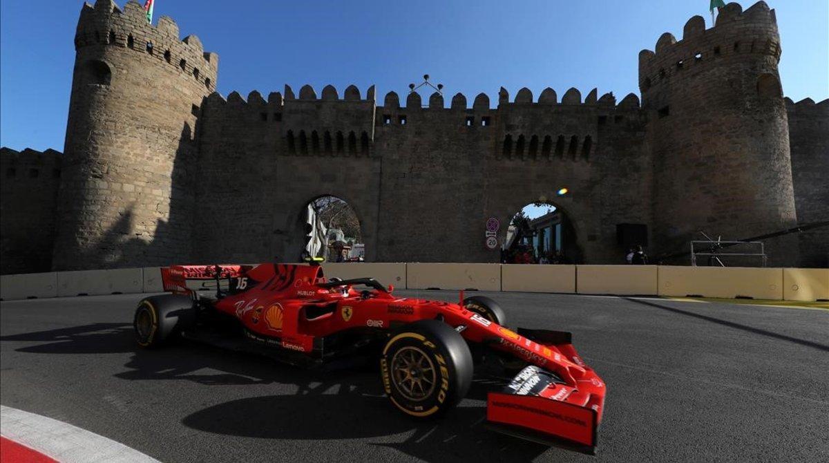 Charles Leclerc (Ferrari) ha sido, hoy, en Baku, el más veloz.