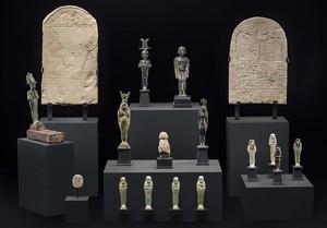 La colección de arte egipcio del doctor Mariano Cano, que sus herederos han depositado en el Museu Egipci de Barcelona.