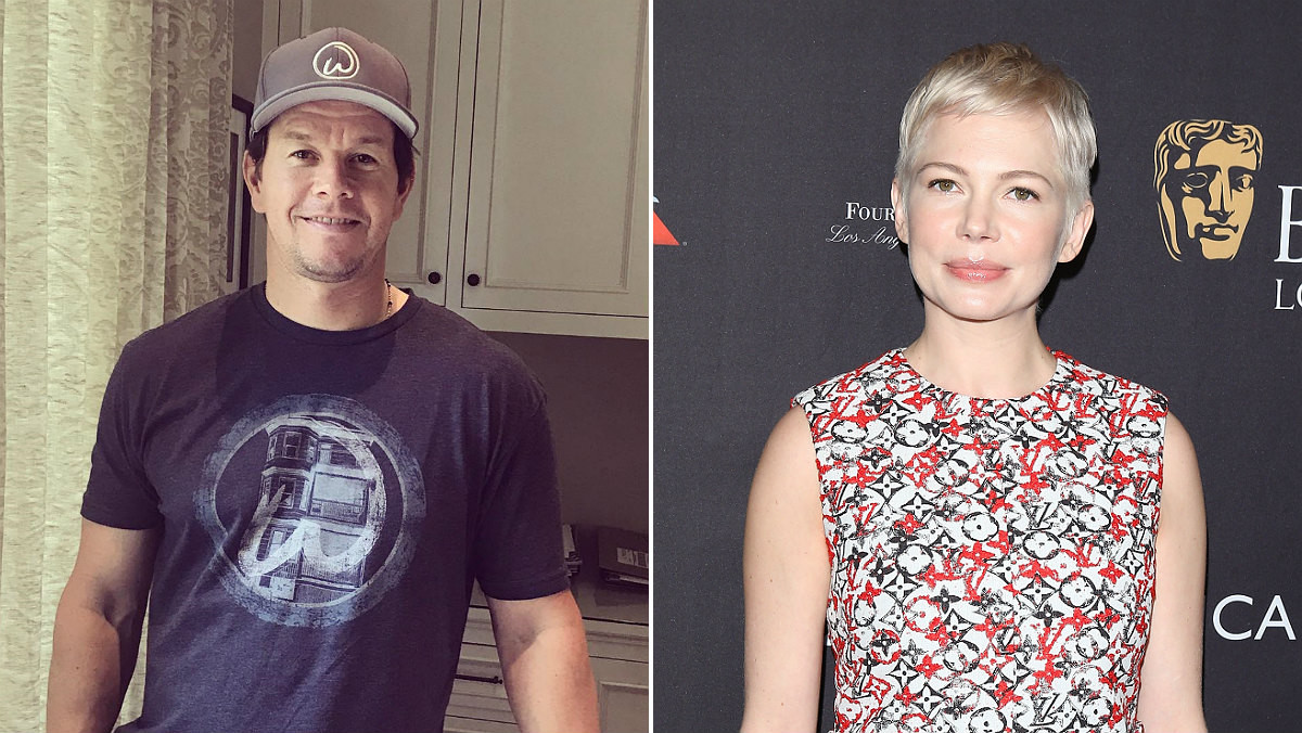 Mark Wahlberg y Michelle Williams.