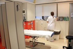 La consulta del Hospital Clínic de Barcelona donde se atienden las personas que han sufrido agresiones sexuales.