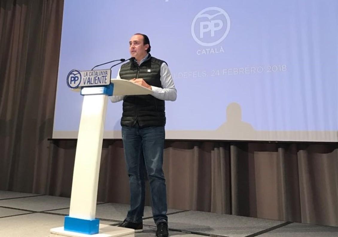Daniel Serrano, portavoz del PP de Cornellà.