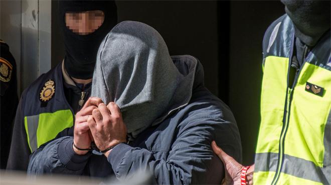 Video de su detención en Palma de Mallorca en 2016.