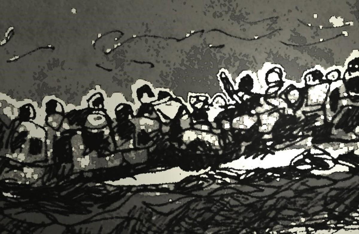 Dibujo para Lesbos. Better days for Moira, de Joan-Carles Roca Sans.