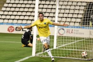 El Lleida se clasificó gracias al gol de Ortuño ante el Compostela