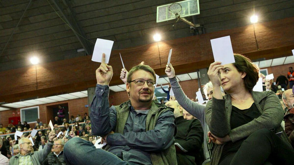 Domènech, Alamany i Albiach lideren la llista conjunta dels comuns i Podem