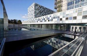 El edificio de la Corte Penal Internacional en La Haya.