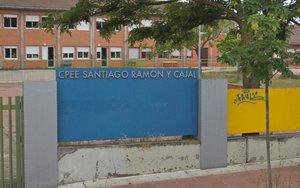 Colegio Público de Educación Especial Ramón y Cajal, en Getafe.