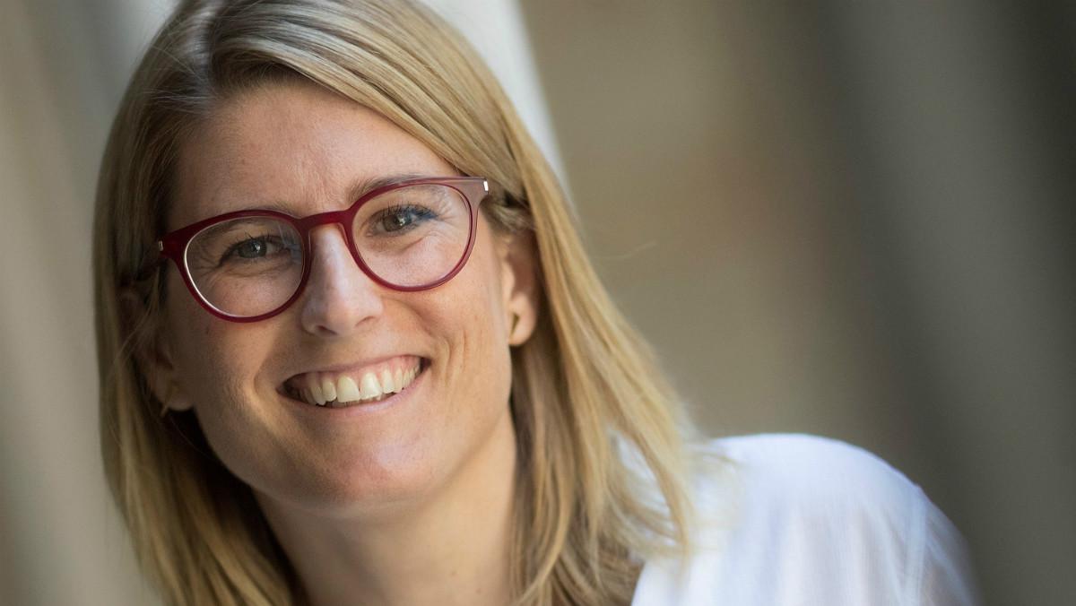 La 'consellera' de Presidència y portavoz del Govern, Elsa Artadi.